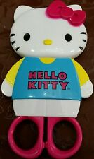 SANRIO HELLO KITTY SAFETY SCISSORS with SHAPED CASE Authentic BRAND NEW for kids