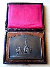 1906 FRENCH REPUBLICAN JOURNALIST ASSOCIATION ART MEDAL by LEGASTELOIS  BOX N134
