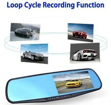 10801080p Car Dash Camera Dual Cam Vehicle Front Rear DVR Lens Recorder HD Video