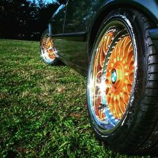 Felgenlack RS gold 3 x 400ml 2K Spraydosen SET.GP27,42€/ l. BBS OZ Alpina Retro
