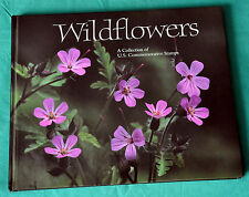 USA. Wildflowers. A Collection of U.S. Commemorative Stamps in Book. 1992.