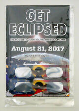Get Eclipsed Solar Eclipse Guide Book 21 Aug 2017 USA +2 Glasses - Fred Espenak