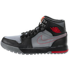 Air Jordan 1 Trek Mens 616344-004 Grey Black Red Sneakerboots Shoes Size 11