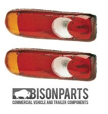 *NISSAN CABSTAR REAR TAIL LIGHT LENS ECLIPSE / TEARDROP RH / LH BP90-105 X 2