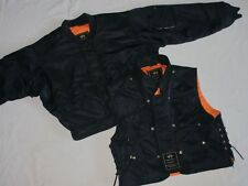 *ALPHA INDUSTRIES FLIEGER INDUSTRIES BOMBER JACKE WESTE*NAVY BLAU*GR: M*TIP TOP