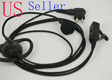 D-Shape PTT Headset for Motorola GP300 CP200 HYT TC600 TC700 with boom mic