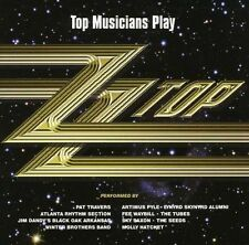 ZZ TOP TRIBUTE - TOP MUSICIANS PLAY (New & Sealed) CD Pat Travers Walter Trout