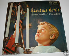 """Original 1966 Christmas Carols from Guildford Cathedral 12"""" Vinyl LP Record"""