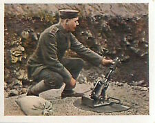 German Soldiers Mortar Mortier Verdun Deutsches Heer WWI WELTKRIEG 14/18 CHROMO