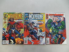 WOLVERINE 3 ISSUE COMIC RUN LOT 146 147 148 AGE OF APOCALYPSE MARVEL