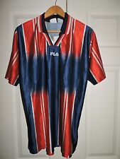 Mens VTG Fila Jersey Made in Italy size  M  red, blue, white