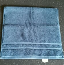 "Waterworks Studio Solid Dobby Hand Towel Ultramarine Blue 16"" × 30"" Cotton"