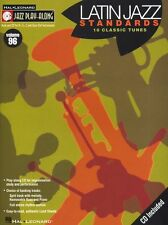 Jazz Play Along Latin Standards Clarinet Sax Saxophone Flute Woodwind Music Book