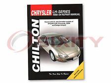 Chrysler Concorde Chilton Repair Manual Limited LX LXi Shop Service Garage rd