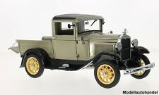 Ford A Model Pick Up hellgrau/schwarz 1931 1:18 Sunstar 6110