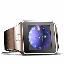 "W-09 1.54"" Touch Screen Fashion Unlocked Watch cell phone Quad Band Single Card"