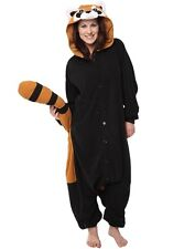 Raccoon Adult Pajamas Animal Cosplay Costume Onesie (Size XL) YONE001
