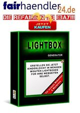 LIGHTBOX GENERATOR Software Light-Box für Webseiten und WordPress-Blogs E-LIZENZ