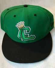 New Era Green/Black Clinton LumberKings Authentic 59FIFTY Fitted Hat Wool 7 7/8