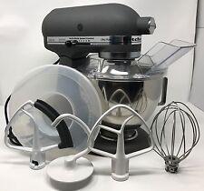 Kitchenaid KSM90 300W 4.5QT Tilt-Head Stand Mixer w/ Bowl & Accessories - Grey