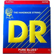 DR Strings PHR-10 Pure Blues Medium Nickel Electric Guitar Strings (10-46)