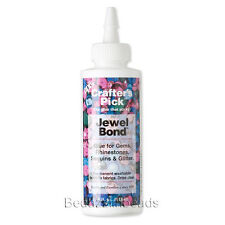 Jewel Bond Adhesive Glue For Jewelry Rhinestone Flat Backs on Fabric and Cloth