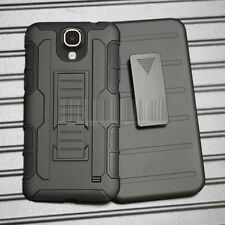 Armor Protector Hybrid Hard Case Cover Holster For Samsung Galaxy Mega 2 G750