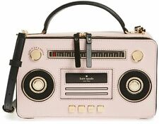 NWT! Kate Spade JAZZ THINGS UP BOOM BOX Soft Leather
