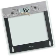 TAYLOR 7084 TALKING 440# Digital Weight SCALE People Bathroom Obesity Bariatric