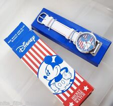 Disney Americana Stars And Stripes Watch Women's Mickey Mouse Watch