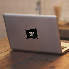 "Glowing One Piece Luffy Pirate Skull f Macbook 11 13 15 17"" Vinyl Decal Sticker"