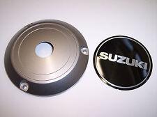 Zündungsdeckel Motordeckel Deckel silber Emblem schwarz orig.Suzuki GS500 04-08