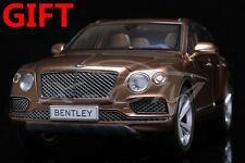 Car Model Kyosho Bentley Bentayga SUV (Gold) 1:18 + SMALL GIFT!!!!!!!!!!!