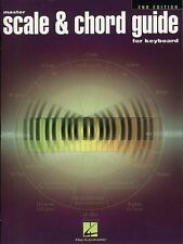 Master Scale & Chord Guide For Keyboard Learn to Play Piano Organ Music Book