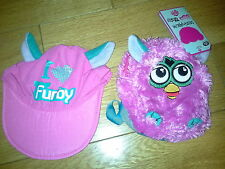 BRAND NEW AND SEALED DESIGN A BEAR FURBY HAT AND BACK PACK SET