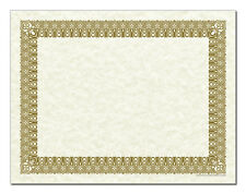 Certificate Border Award Paper - Parchtone & Gold - Cool School Studios - 50/pkg