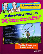 Adventures in Minecraft by David Whale, Martin O'Hanlon EXPRESS POST
