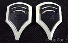 NEW Pair Of US Army Sergeant Insignia Collar Dogs / Badges Subdued