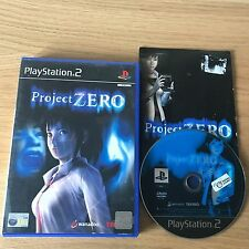 Project Zero PS2 PlayStation 2 Game | PAL Complete | Survival Horror Rare