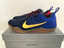 Men's Nike Kobe 11 XI Elite Low Mambacurial Sz 10.5 Barcelona Bryant 844130-464