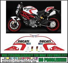 kit adesivi stickers compatibili  monster 696 795 796 800 1100 moto gp 2016