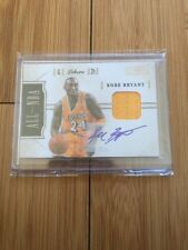 KOBE BRYANT 11-12 NATIONAL TREASURES JERSEY PATCH SP ON CARD AUTO  /25!!