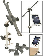 MUSIC MICROPHONE DESK STAND IPAD TABLET HOLDER CLAMP FOR IPAD 1 2 3 4 FREE P&P