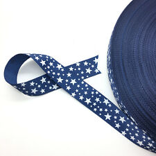 "New 5 Yards 3/4"" (20mm) Printed Grosgrain Ribbon Hair Bow DIY Sewing AD50"