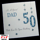 Personalised Handmade Birthday Card Dad Brother Son Grandad Husband Uncle other