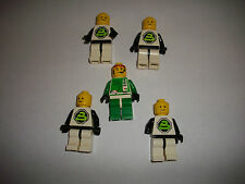 LEGO RARE RETRO VINTAGE CLASSIC SPACE POLICE FIGURES BLACKTRON 5 PIECES