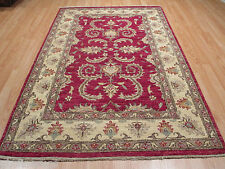 4x6 Super Museum Design All-Over-Pattern Vegetable Dye Hand-made Rug 582406