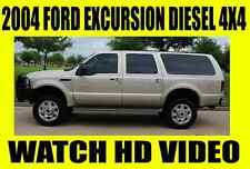 Ford : Excursion 4X4