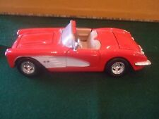 Motormax 1959 Red Corvette Convertible Diecast Car Item #73216