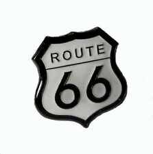 Metal Enamel Pin Badge Brooch Route 66 America USA Highway Will Rogers Journey